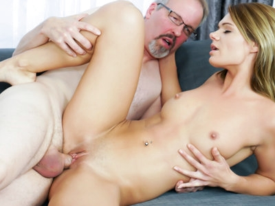 Stunning Lara West fucks her best friend's dad