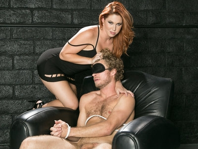 Cheating Michael Vegas obeys & fucks redheaded Edyn Blair.